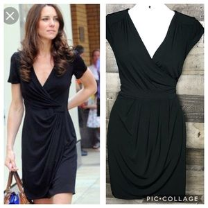 NY&C | Draped Wrap Dress~M